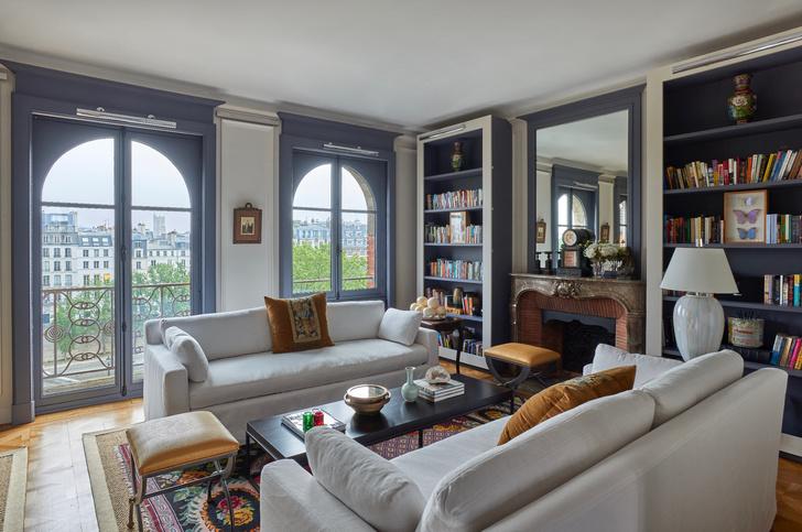 Фото №1 - Парижская квартира с видом на Лувр