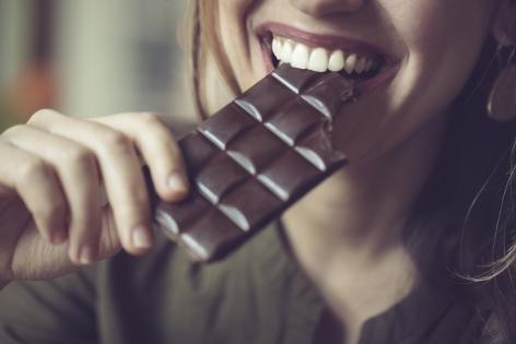 Жиры для похудения: горький шоколад