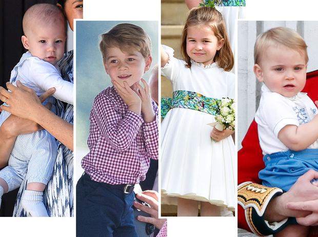 Фото №1 - Как сложится судьба Джорджа, Шарлотты, Луи и Арчи: прогноз астролога
