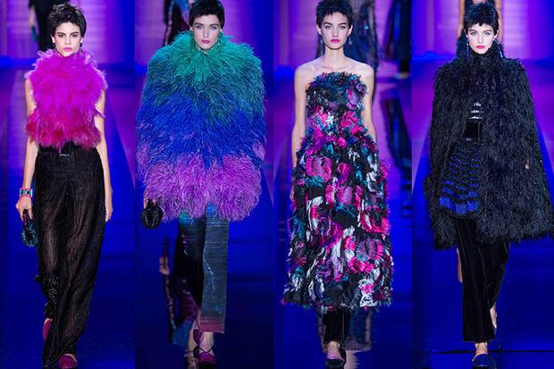 Armani Prive Haute Couture, осень-зима 2016/2017