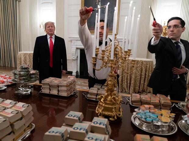 Фото №3 - Как президент Трамп пошутил над диетой жены (но заставил всех смеяться над собой)