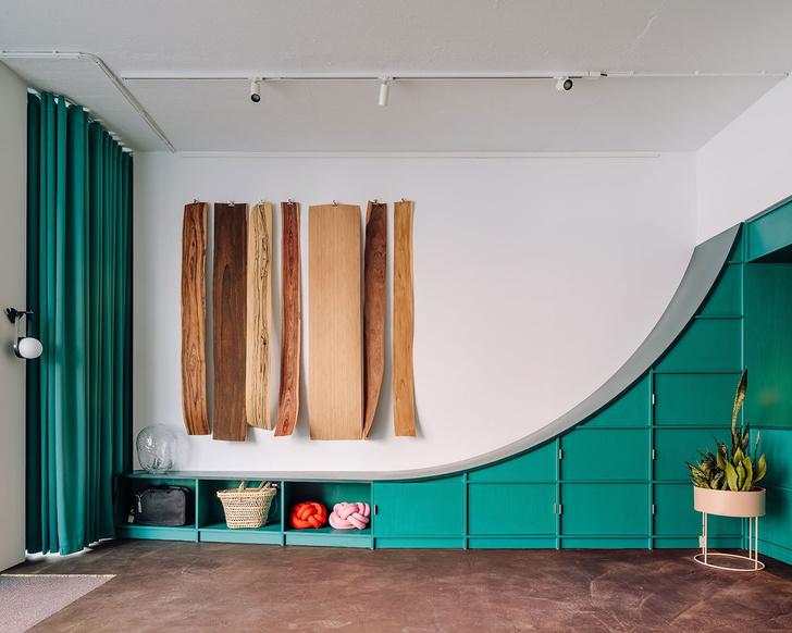 Фото №12 - Концепт-стор в зеленых тонах в Лиссабоне