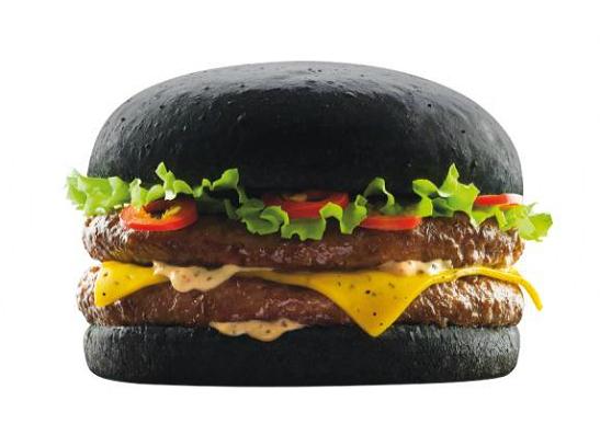 Фото №2 - В меню японского Burger King появился «черный» бургер