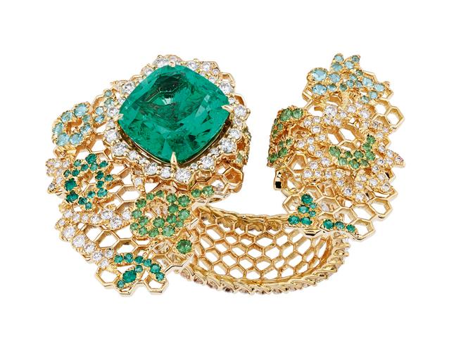 Фото №3 - Золотые кружева Dior Haute Joaillerie: коллекция Dior Dior Dior