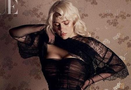 Новые, еще более откровенные фото Билли Айлиш для британского Vogue