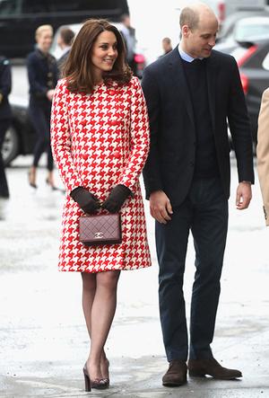 Фото №4 - Кейт Миддлтон и принц Уильям в Швеции: день второй