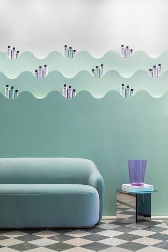 Фото №4 - Салон красоты в пастельных тонах в Стокгольме