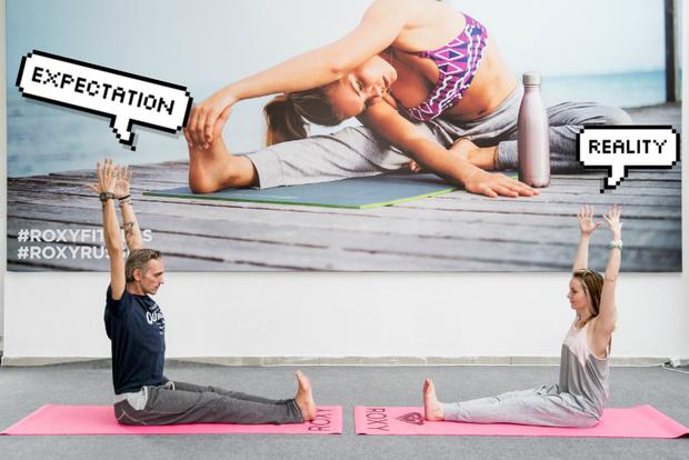 Фото №11 - Все, что ты хотела знать о йоге: мастер-класс от гуру Roxy Yoga