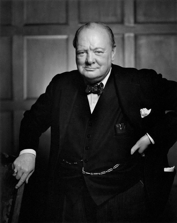 Фото №4 - Рычащий лев: история одного портрета Уинстона Черчилля