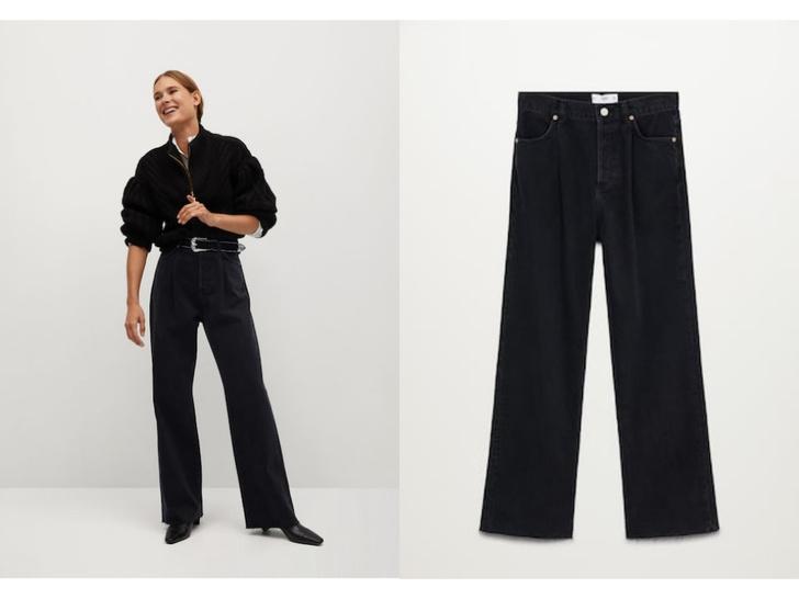 Фото №4 - Актуальные черные джинсы, которые стройнят