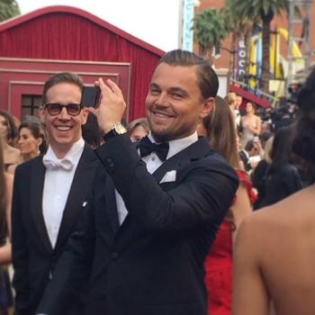 Леонардо Ди Каприо на Оскаре
