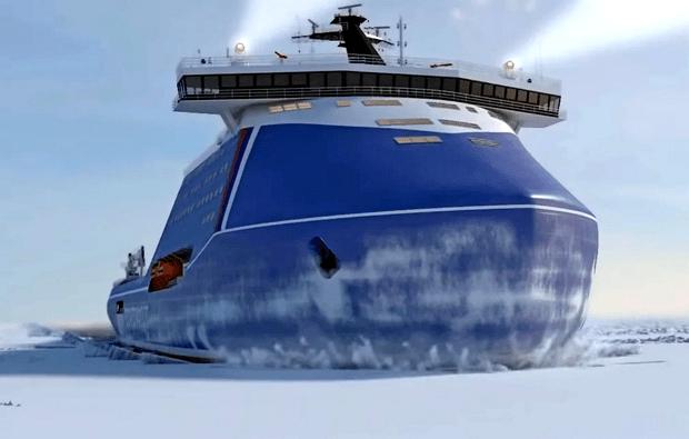 Фото №1 - Россия начнет строить самый мощный ледокол в мире