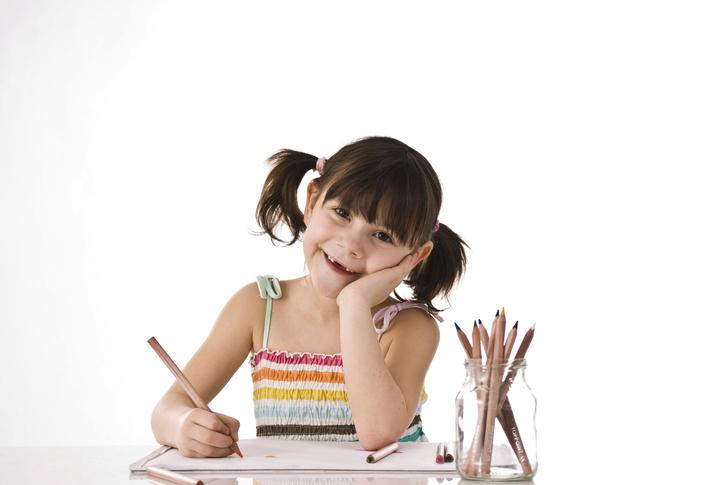 Фото №1 - Детские автопортреты зависят от зрителя