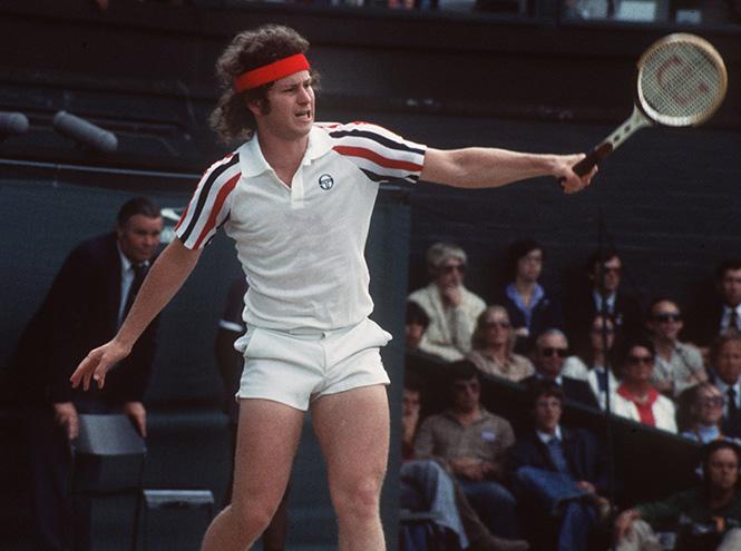 Фото №5 - Хулиганы Уимблдона: кто из теннисистов (и как) нарушал «белый» дресс-код турнира