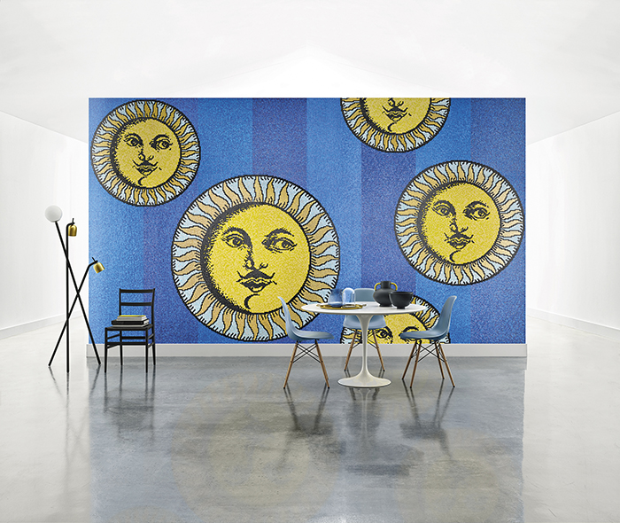 Фото №12 - Bisazza Fornasetti: совместный проект двух легендарных брендов