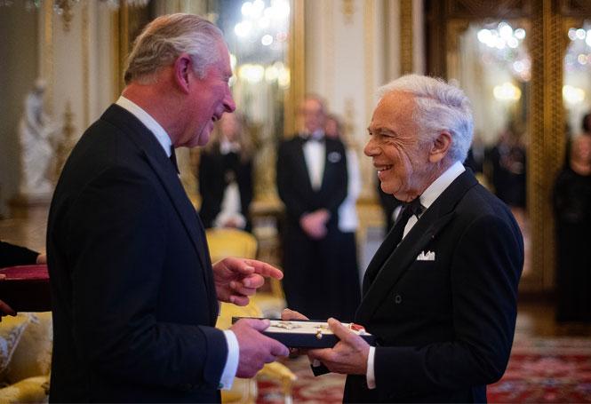 Фото №2 - Ральф Лорен получил Превосходнейший орден Британской империи