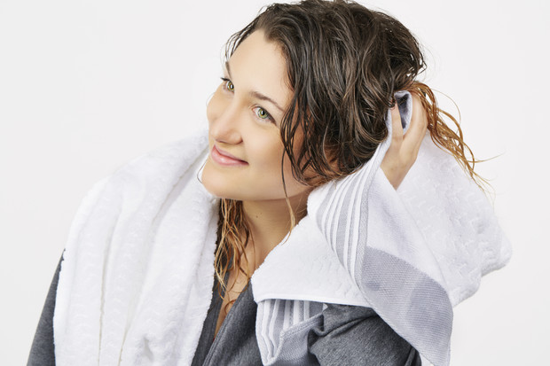 как высушить волосы без фена
