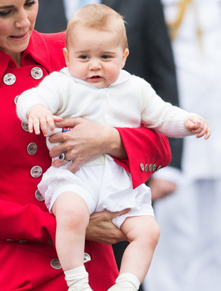 Фото №2 - Угадай кто: на кого больше похожа принцесса Шарлотта