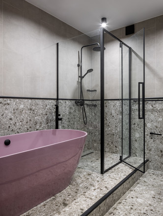 Фото №14 - Графика и минимализм: квартира для студента в Уфе 76 м²
