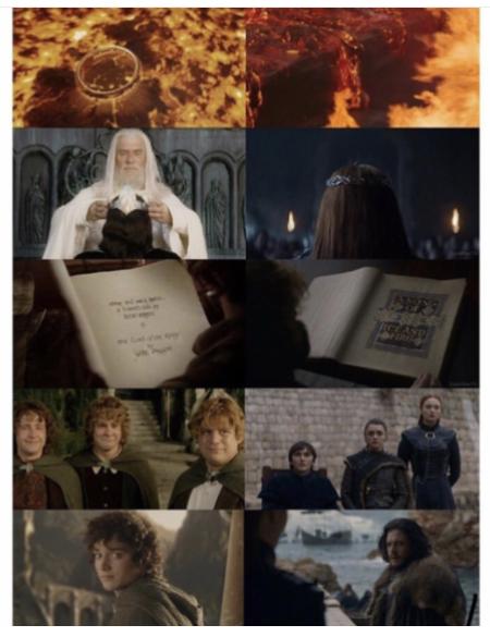 Фото №1 - Поклонники «Игры престолов» уверены, что сценаристы списали финал с «Властелина колец»