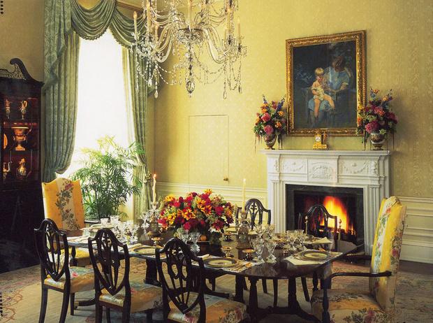 Фото №6 - Классика с личным акцентом: как первые леди США меняли Белый дом
