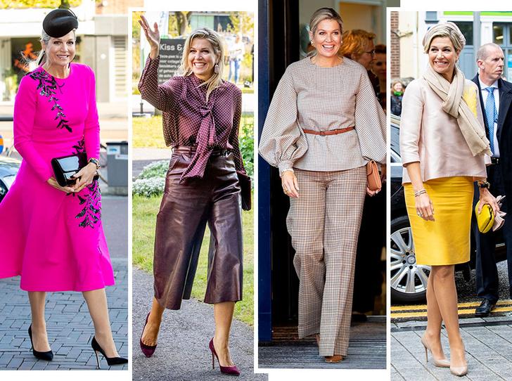 Фото №1 - Стильная Максима: 5 модных правил королевы Нидерландов