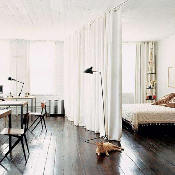 Текстильная штора