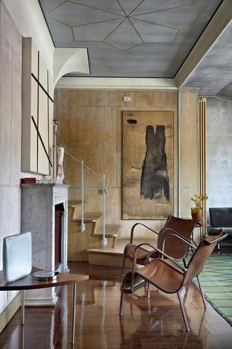 Фото №1 - Богемная квартира галеристки Нины Яшар в Милане