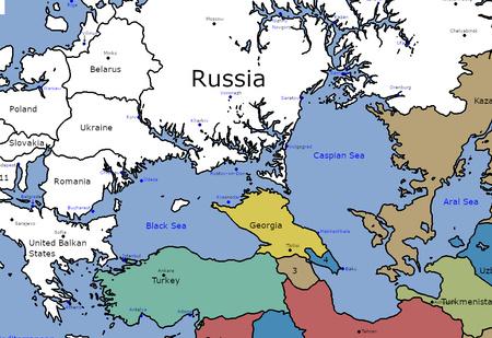 Как будет выглядеть карта Европы, если уровень мирового океана поднимется на 100 метров