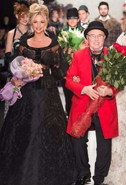 Неделя моды: Виктория Лопырева и Вячеслав Зайцев, фото