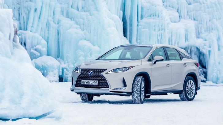 Фото №7 - Lexus покоряет Байкал: лед, вода и медные трубы