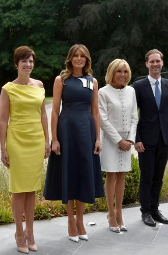 Фото №9 - Звездный час Мелании Трамп: как Первая леди США проявила себя на саммите НАТО