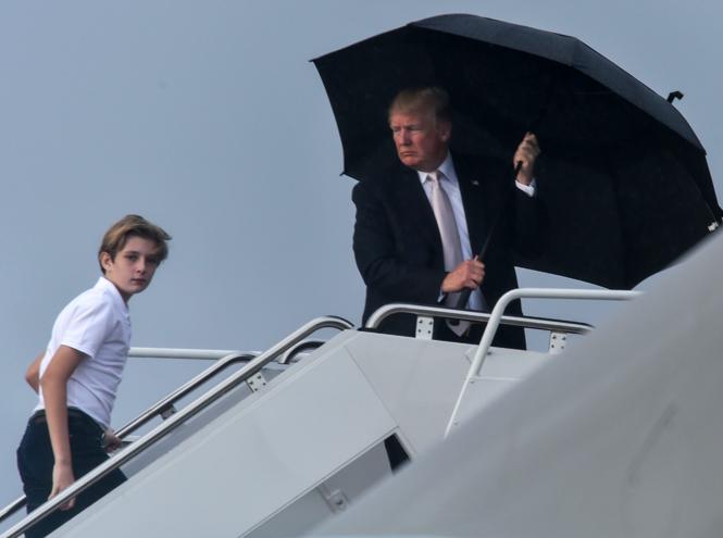 Фото №5 - Зонтик для нарцисса: Дональд Трамп не думает даже о своей семье
