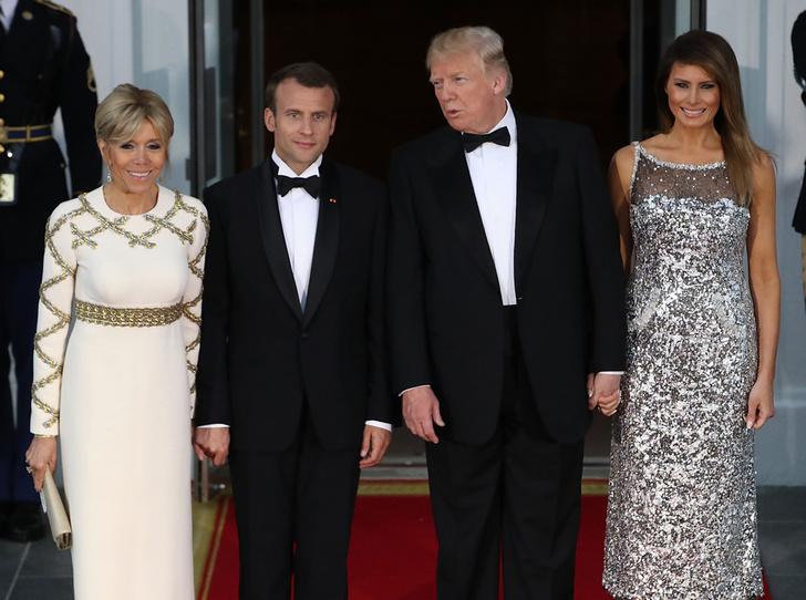 Фото №1 - Как Трамп Макрона принимал: самые яркие детали госвизита французской Первой пары в США