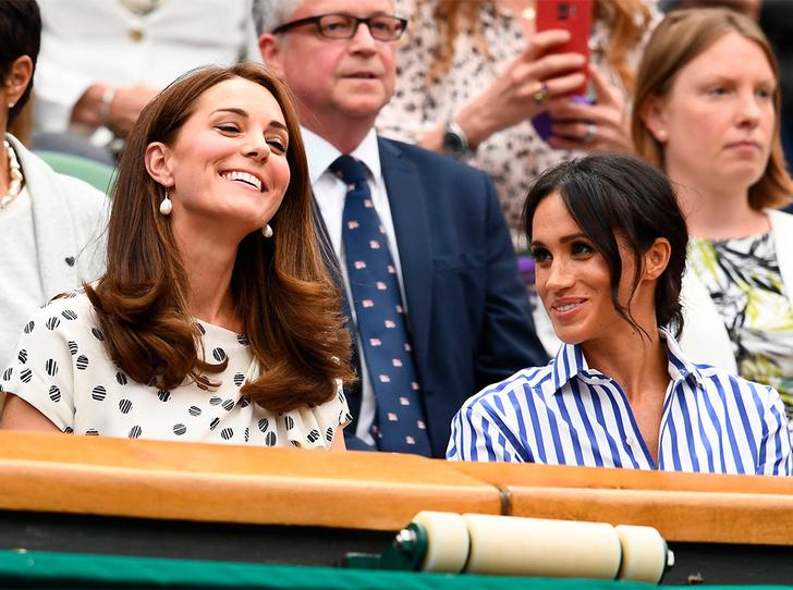 Фото №1 - Меган или Кейт: у кого первый год в королевской семье окажется легче (в итоге)