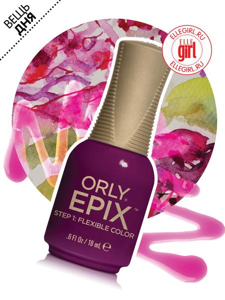 Эластичное цветное покрытие Epix Flexible Color Manicure, Orly