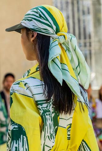 Фото №20 - Шляпы, панамы и кепки: модные головные уборы для лета 2020