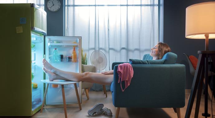 7 необычных способов быстро охладиться в жару