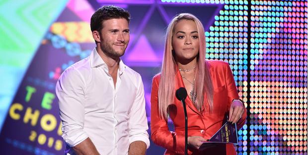 Скотт Иствуд и Рита Ора Teen Choice Awards 2015