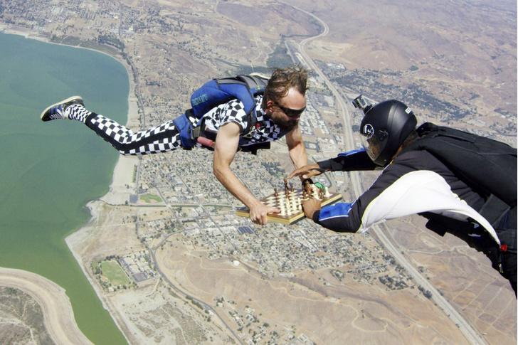 Фото №1 - Игра на высоте