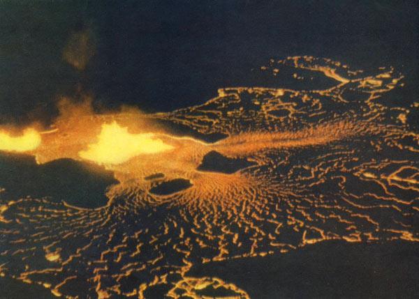 Фото №1 - Огненное озеро