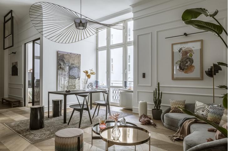 Фото №1 - Элегантная небрежность: квартира 54 м² в Варшаве