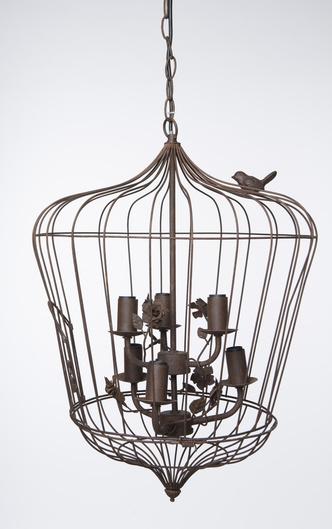 Фото №6 - Птичьи клетки в интерьере: идеи использования от дизайнера