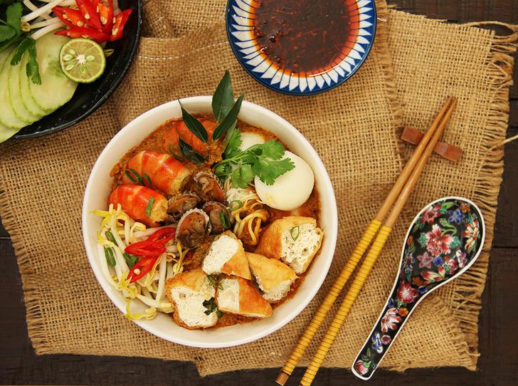 Фото №1 - Перанаканская кухня: что это и почему ее нужно пробовать в Сингапуре