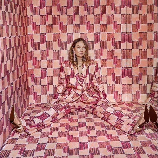 Фото №2 - Новая коллекция ткани и обоев от Келли Уэстлер