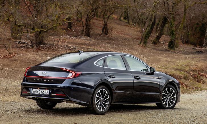 Фото №2 - Hyundai Sonata: страшная сила
