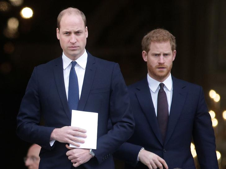 Фото №1 - Не просто ссора: почему конфликт Уильяма и Гарри может стать фатальным для британской монархии