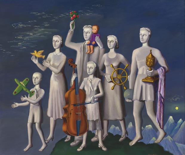 Фото №1 - Коллекция работ Гриши Брускина на аукционе Christie's