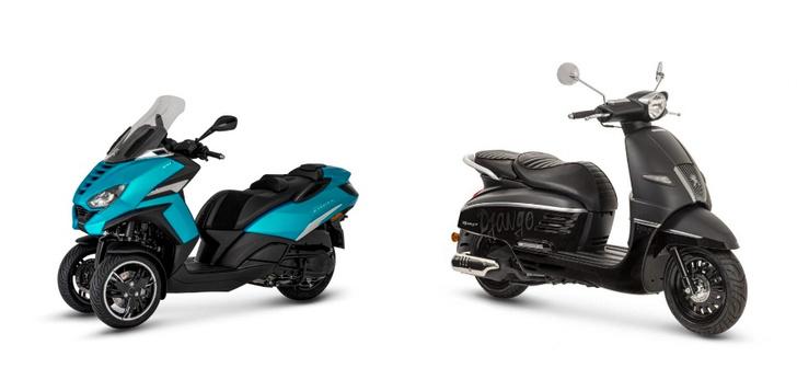 Фото №2 - Peugeot Motocycles в России. Скутеры класса премиум и большие планы