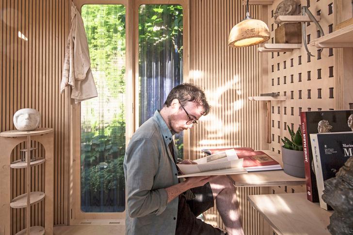 Фото №5 - Модульный офис в саду